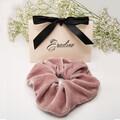 Eradine Silk Velvet Scrunchies