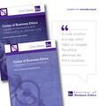 Codes of Business Ethics: a guide to developing and implementing an effective code and examples of good practice
