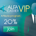 VIP level of ALFAcashier affiliate program