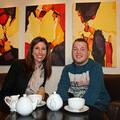 Gaynor Faye with Fixer Curtis Boylan