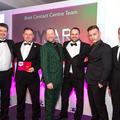 The MYJAR team collect the award