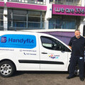 Kevin Dench, one of our HandyFix team members with our vans