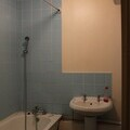 Before renovation of a bathroom