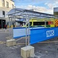 NHS accident & Emergency Covered Walkway