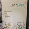 Image of the EcoSleep mattress protector in its packaging