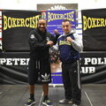 Anthony York CEO of Boxing Futures with Andy Wake Owner of Boxercise Corporation