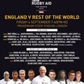 Rugby Aid Out of Home Advertisement from Media Agency Group