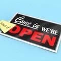 Covid19 shop open sign