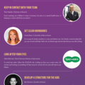 Shareable iinfographic of top WFH tips