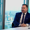United Capital CEO, Graeme Carling sits in London office