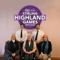 Stirling Highland Games Committee 2020 [Barry McGrandles , Matt McGrandles [President], Una McLachlan, Nancy McGrandles, Catriona Cripps]