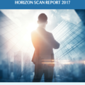 Front cover of the BCI Horizon Scan Report 2017