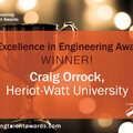 Overall Excellence in Engineering award winner announcement.