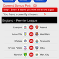 Football Betting App - Football Bingo