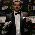 Mark Catlin, CEO of Portsmouth, winning CEO of the Year