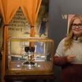 Dr Ana Mafé García with Holy Grail of Valencia book