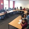 English language class run by Ashley Community Housing in Wolverhampton