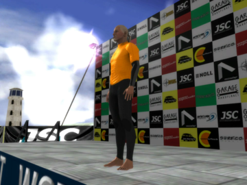 The Surfer PS3 - podium