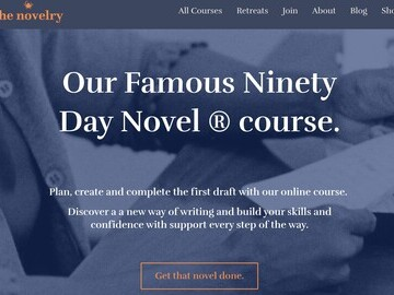 The Ninety Day Novel Course at The Novelry