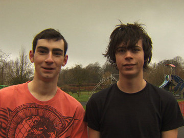 Fixers Free Running 1- Christian Thompson & Alex Webster (L-R)
