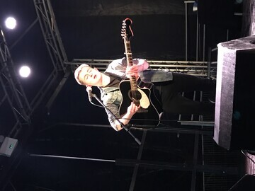 Matthew Gibb, performer at Creative Arts Festival 2019