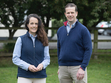 Dr Kevin Corley and Jennifer Corley, founders of EquiTrace
