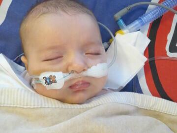 02. Henry in 2013 in hospital