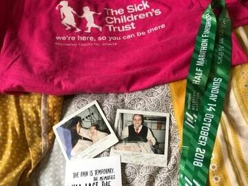 Jasmine ran the Melbourne Half Marathon last October raising £430