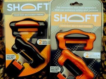 SHOFT orange & black packs