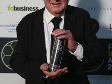John Motson at the Football Business Awards