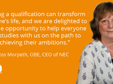 Ros Morpeth, OBE, CEO of NEC