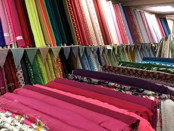 Huge Selection Of Fabric
