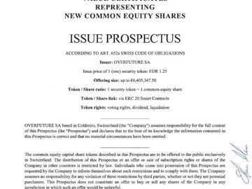 Overfuture prospectus