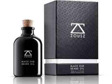 Luxury Black Oud Beard Oil 50mL