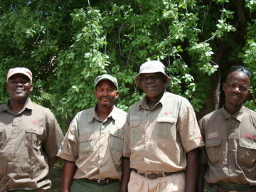 Lion guardians in the Ehirovipuka Conservancy who work to manage lion-human conflict