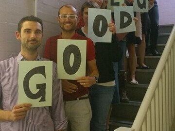 NEC staff wish students good luck on GCSE and IGCSE results day