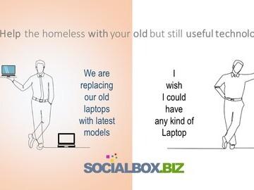 laptops for homeless and vulnerable socialbox.biz