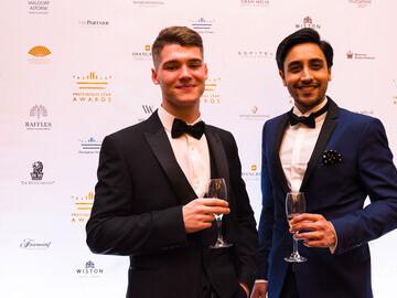 Burhill Golf Club representatives at Prestigious Star Awards 2018