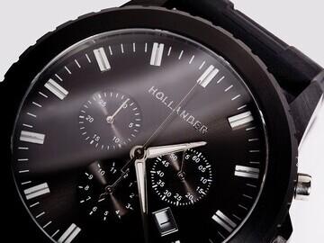Black watch close up