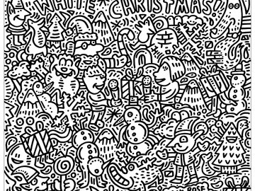 Colour Me In Artwork For Children To Colour In