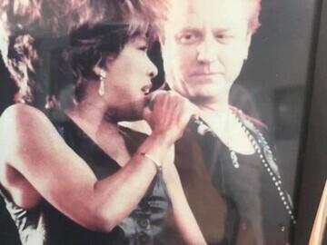 John Miles with Tina Turner
