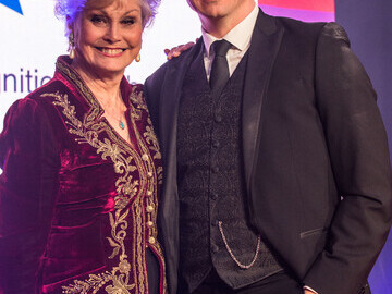 Angela Rippon and Cassidy Little host the 2017 Soldiering On Awards.