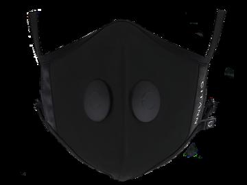 Black Mask Flat Shot Image