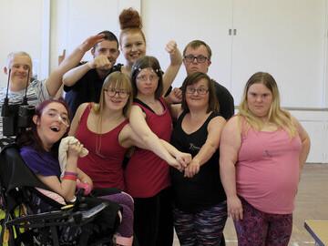The DanceSyndrome Dance Leader team of volunteers