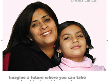 Against Breast Cancer Poster