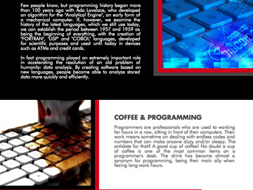Infographic - Coffee and code - The love story