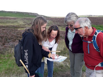 Volunteers gather vital data about bumblebees on a BeeWalk survey