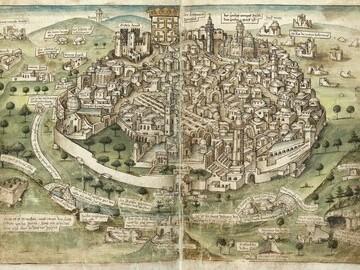 Jerusalem in 15th Century CE