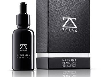 Luxury Black Oud Beard Oil 30mL
