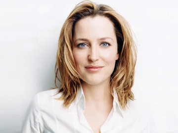 Gillian Anderson - Star of SOLD The Movie and Taught, Not Trafficked supporter